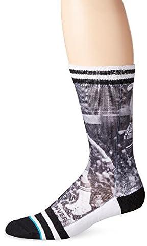 Stance Men's Julius Erving Crew Sock, Nets, Large/X-Large