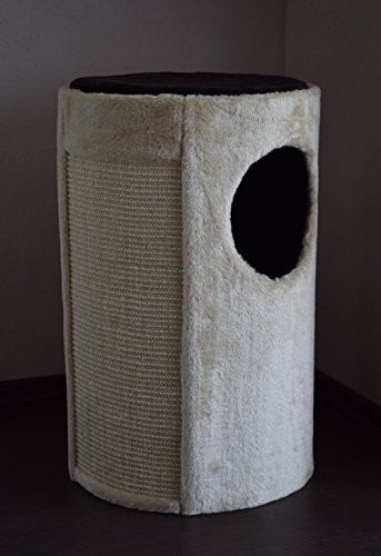 "'""Unique Lemio–Cat Scratching Post Cat Scratching Post–Sisal Cat Basket 55cm Cat Tree Cat Scratching Post Furniture for Cats 4"