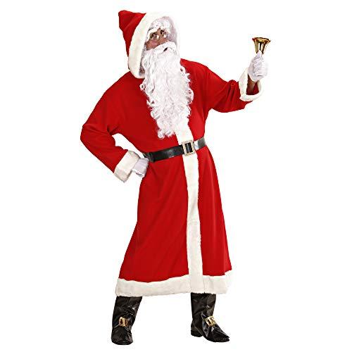 Deluxe Anzug Weihnachtsmann Kostüm - Widmann 1544V - Weihnachtsmannkostüm 6tlg de Luxe, universalgröße