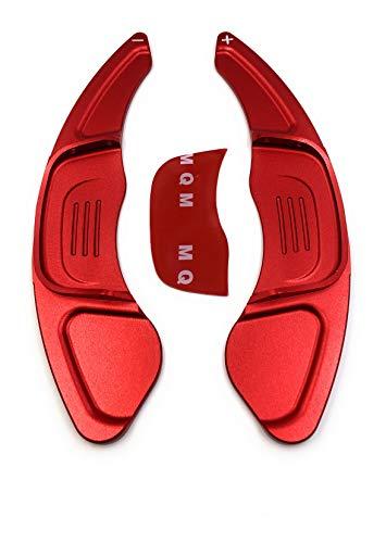 Onlineworld2013 Comandi del Cambio Shift Paddle Golf 7 GTI R GTD Polo GTI 20 Scirocco FL rosso Eloxiert