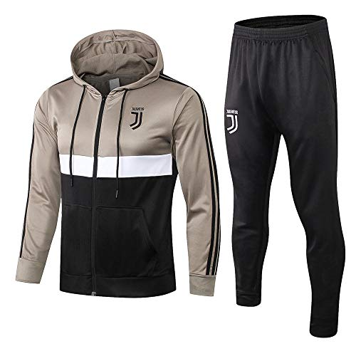 XunZhiYuan Windbreaker Fußball Langarm Jacke & Hose Trainingsanzug Windbreaker Juventus Aussehen @ _Photo_Color_S
