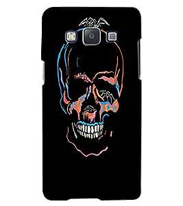 Citydreamz Skull\Horror\Death Hard Polycarbonate Designer Back Case Cover For Samsung Galaxy A7