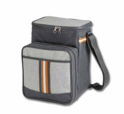 Outdoor-Picknick-Kühltasche Kühltasche Tragbar Handtasche,Grey
