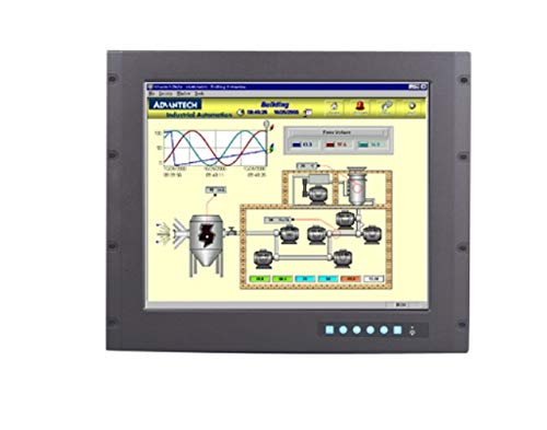 (DMC Taiwan) 9U Rackmount 19 inches SXGA Industrial Monitor with Resistive Touchscreen, Direct-VGA and DVI Ports Flat-panel-rackmount