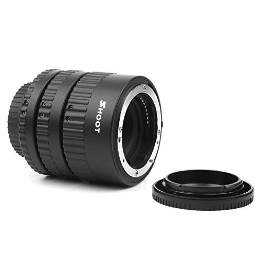 D & F mise au point automatique Macro Tube d'extension de gros Plans pour Nikon D3100, D3200, D3300, D5100, D5300, D750, D800, D80, D90, D100 DSLR Camera