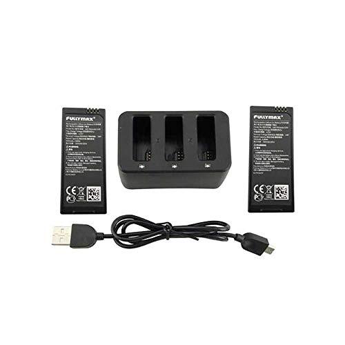 Caricabatteria USB 3 in 1 con 2PCS 3.8V 1100mAh batteria al litio per DJI Ryze Tello RC Drone