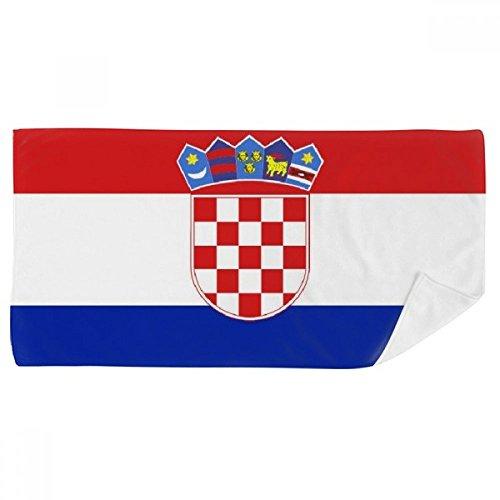 Europa-handtuch (DIYthinker Kroatien National Flagge Europa Land Badetuch weichen Waschlap Kulli Waschlap Kulli 35X70Cm 35 x 70cm Mehrfarbig)
