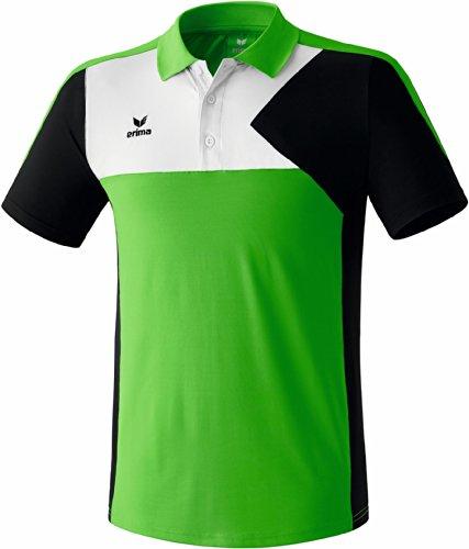 erima Kinder Premium One Poloshirt Green/Schwarz/Weiß