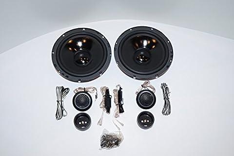 VW beetle, bora, passat, enceintes, haut-parleurs porte avant, pG audio evo 2.16 iI