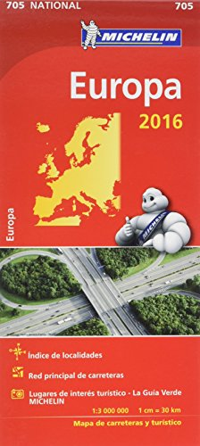 Mapa National Europa (Mapas National Michelin)