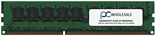HP 647909-b21-8 GB PC3-10600 DDR3-1333 2RX8 1.35 V ECC UDIMM (Third Party) - B21 Ram-speicher