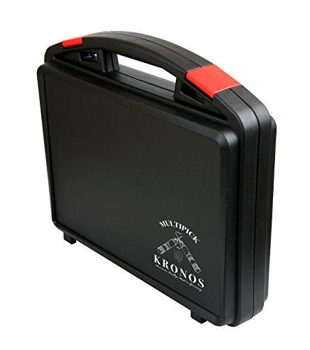 Elektropick KRONOS Koffer - Original Multipick Lock-Picking Zubehör für Profis