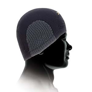X-BIONIC O020232 Bonnet Noir/Anthracite FR : S (Taille Fabricant : 1)