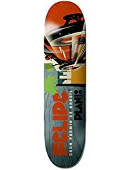Plan B Racers Felipe Plateau de Skateboard Mixte Adulte, Multicolore