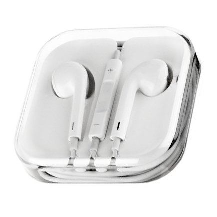 Original Apple EarPods mit Mikrofon und Fernbedienung In-Ear Stereo Headset 3,5 mm...
