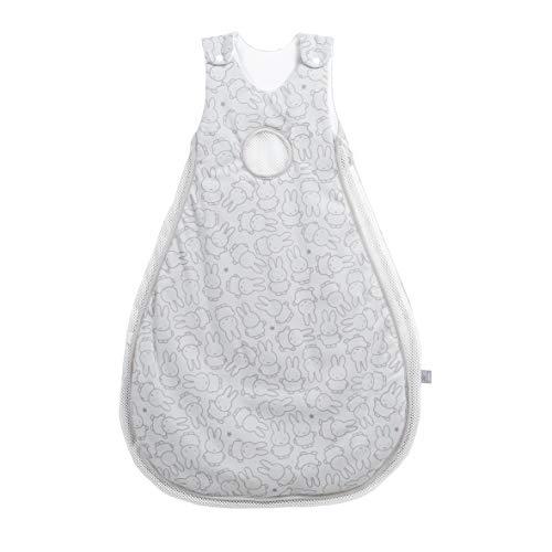 safe asleep von roba Babyschlafsack Air miffy Größe 74/80 cm, 100% Baumwolle, Single Jersey, bedruckt, weiche Füllung 100% PES, Mesh-Einsätze, AIR-balance System (Jungen Balance Air)
