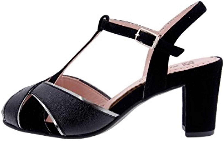 PieSanto Scarpe Donna Comfort Pelle 1258 Sandali Tacco Larghezza Speciale | Export  | Sig/Sig Ra Scarpa