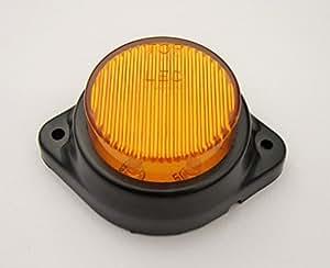 Bajato: Phares / Feux Clignotant Décoration Ambre LED Embout Marqueur Contour De Côté Camion Remorque Bus Caravane Tracteur 12v-12000402 Vente en gros lot 50pc