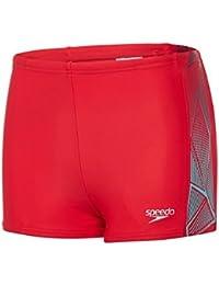 Speedo Boys' Star Kick Logo Panel Aquashort Swimwear