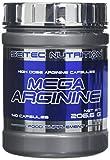 Scitec Nutrition Mega Arginine 140 caps Muscle Strength Endurance Energy