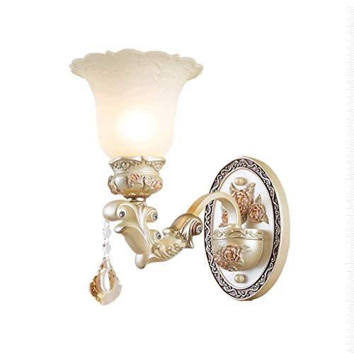 Salon Chambre Lampe De Chevet Simple Européenne Applique Murale en Relief Rétro Escalier Allée Éclairage