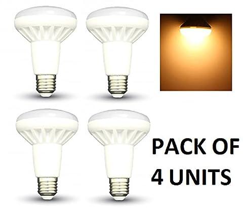 R80 E27 Ampoule Led - Led ampoules à réflecteur R80–Lot de 4–E27/Edison