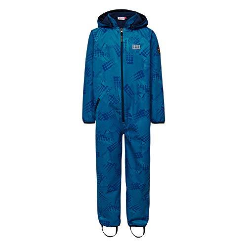 LEGO Wear Baby - Jungen Schneeanzug LEGO Tec Sommer SIRIUS 202 - Softshell - Anzug 20823, Gr. 98, Blau (Blue 551)