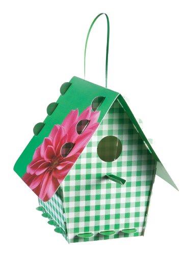 Tweet Tweet Home Nichoir classique en kit Plastique–Vichy Vert
