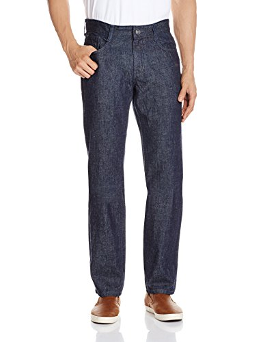 Newport Men's Slim Fit Jeans (8907242774596_267631768_34W x 34L_Rinse Black)  available at amazon for Rs.649