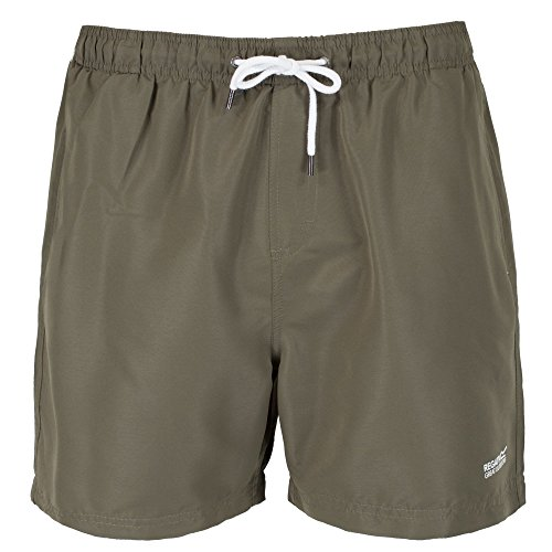 Regatta Herren Mawson Swim Shorts Olive Night