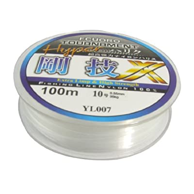 10# 0.55mm Diameter 100M Thread 35Kg 77.1lb Fishing Line Spool by Sourcingmap
