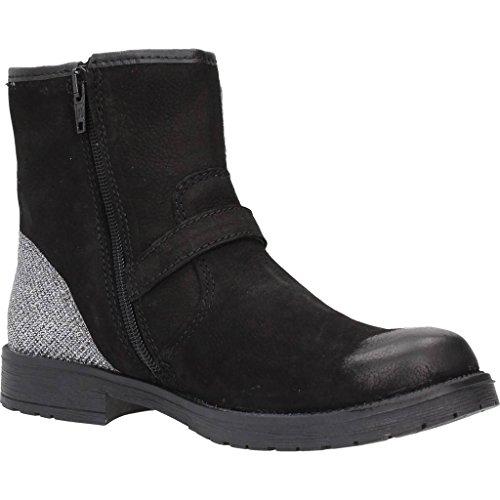 Bottine, couleur Noir , marque LULU, modèle Bottine LULU LL100023L Noir Noir