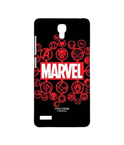 Macmerise Licensed Marvel Comics Marvel Comics Premium Printed Back cover Case for Xiaomi Redmi Note Prime