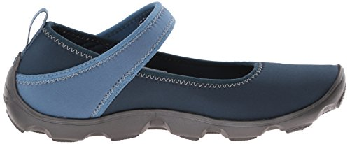 Crocs Duet Busy Day Gs, Mary Jane Fille Bleu (Navy/Graphite)