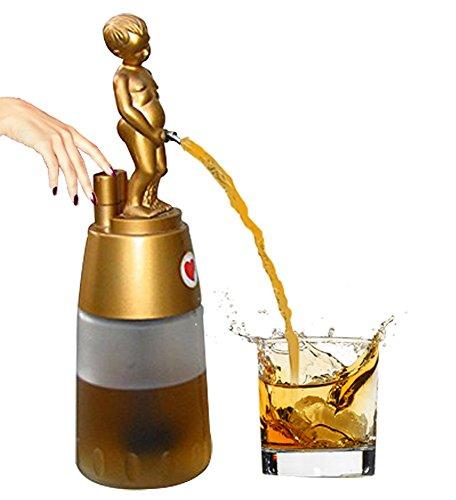 barraid Bonny Boy Golden mit Weiß Jar (Push-knopf-bedienung)