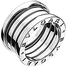 RING BULGARI B ZERO1 3 BAND 18KT WHITE GOLD AN191026/53