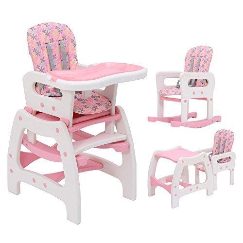 3-en-1-Sillita-Trona-Mecedora-Balancin-Bebe-Convertible-Multifuncional-Infantil-Color-Rosa