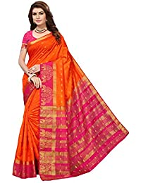 Art Decor Sarees Silk Saree with Blouse Piece