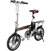 Airwheel R5 - bicicleta eléctrica plegable, bici pedelec con gran alcance hasta 100 km,