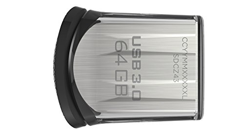 SanDisk Ultra Fit 64GB USB-Flash-Laufwerk USB 3.0 bis zu 150MB/Sek. FFP
