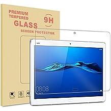 Huawei MediaPad M3 Lite 10 Generation Protector de Pantalla, Infiland Premium Protector de Pantalla de Vidrio Templado para Huawei MediaPad  M3 Lite 10 IPS Tablet PC Película de acero