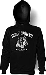 Pit Bull Dog Hoody Pullover Sweater