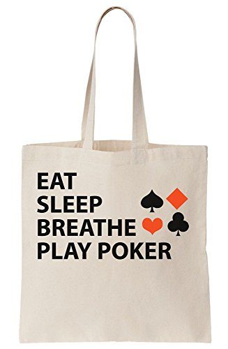 ay Poker Canvas Tote Bag (Card Play Tote)