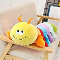 FHFF Plush toy 95Cm Colorful Caterpillar Plush Toys Cute Soft Cartoon Plush Doll Baby Sleeping Pillow 40Cm Multicolor
