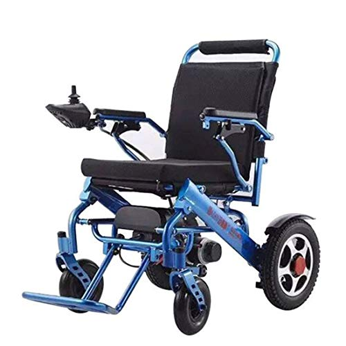 Rolanli Rollstuhl Elektrisch, Tragbarer Elektrisch Rollstuhl Elektrorollstuhl Faltbar für Ältere Menschen