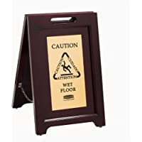 Rubbermaid 1867507 2-Sided Caution Sign