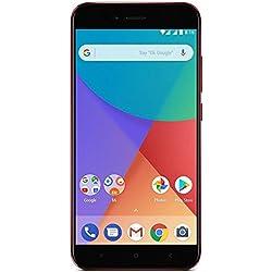 "Xiaomi Mi A1 - Smartphone SIM Doble 4G, 64 GB, 12 MP, Android, Negro/Rojo, 1920 x 1080 Pixeles, 14 cm (5.5"")"