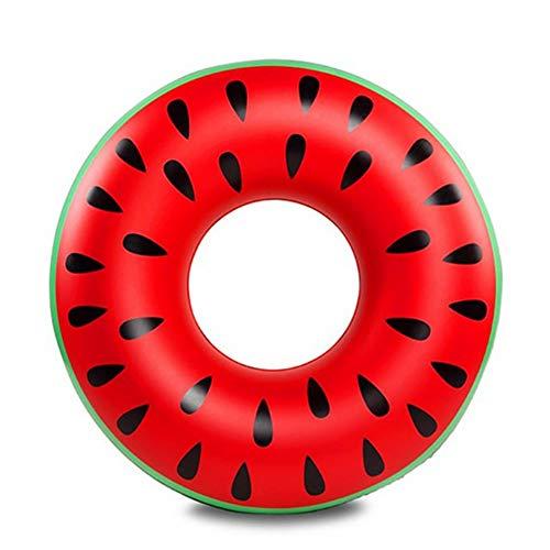 PoeHXtyy Gonfiabile Piscina Galleggiante Cocomero Piscina Anello Tubo Float Divertimento Nuotare Partito Giocattolo Nuotare Anello