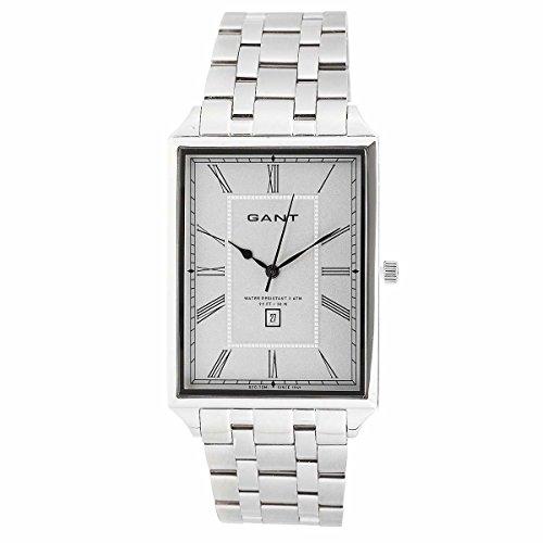 Gant Herren Armbanduhr Windsor Square Silber W10674