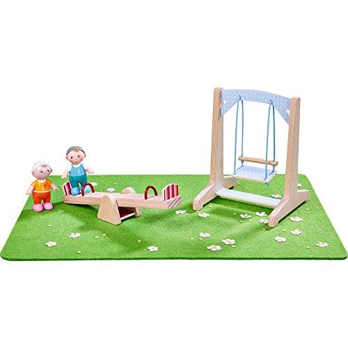 HABA Little Friends - Spielset Spielplatz Puppe (Puppe Spielplatz)